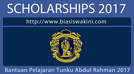 Bantuan Pelajaran Tunku Abdul Rahman- BPTAR 2017