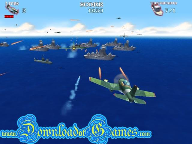 تحميل لعبة حرب الطائرات والسفن Naval strike مجانا