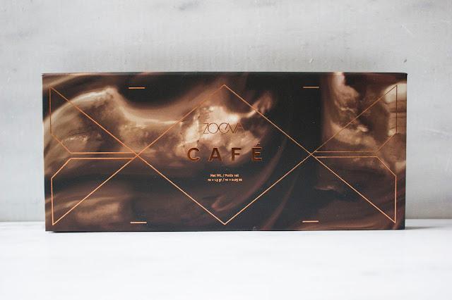 Zoeva - palette Café