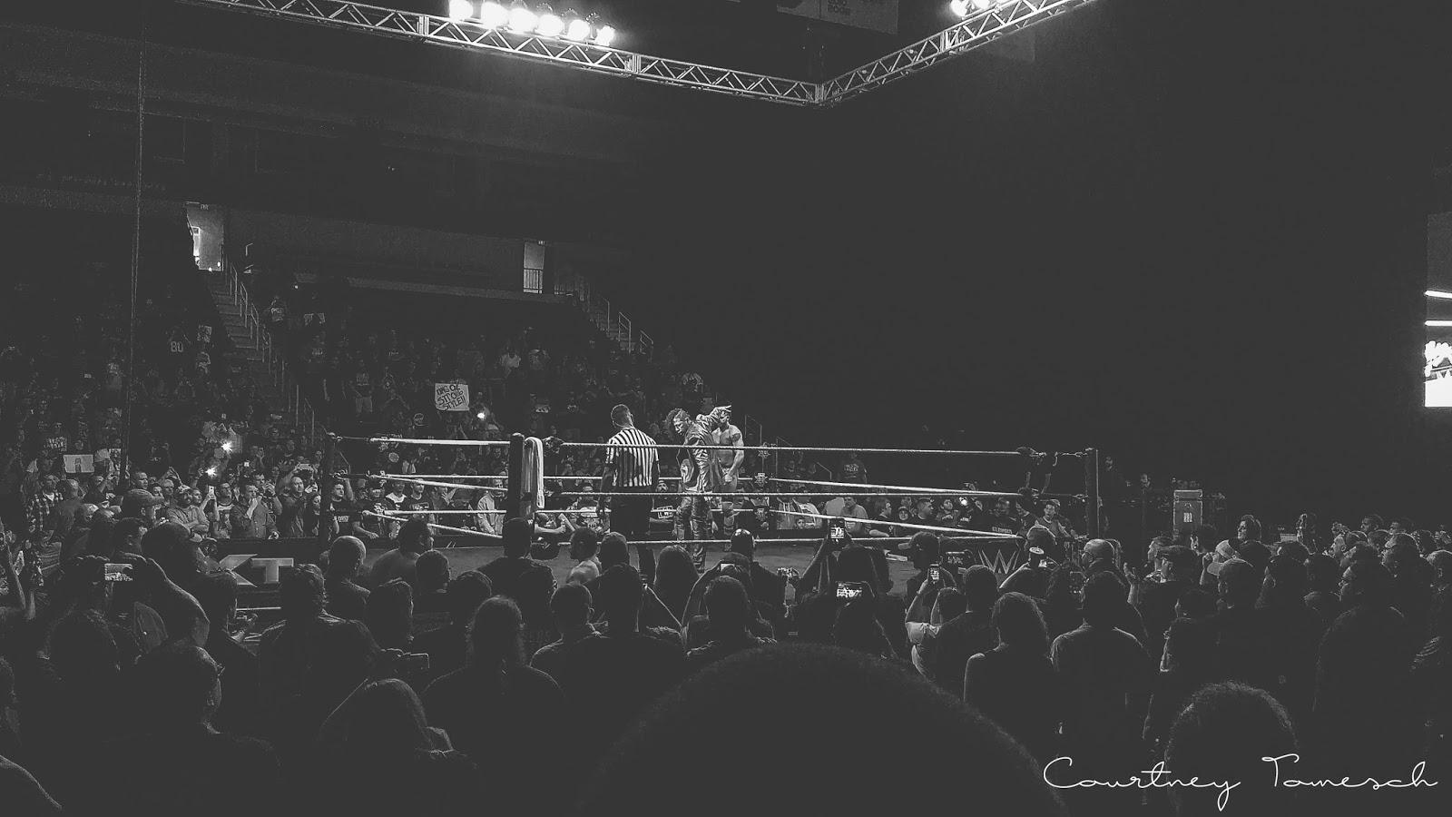 Courtney Tomesch NXT Live Norfolk Shinsuke Nakamura