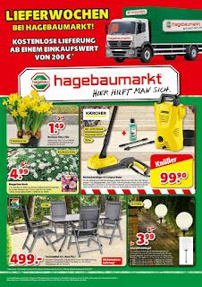 Hagebaumarkt Prospekt  - Angebote ab 30. März bis 29. April 2017