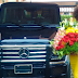 PHOTO: Actress Chika Ike Gift Self a Mercedes-Benz G-Class SUV As She Celebrate Her Birthday