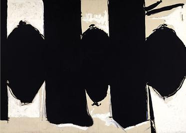 Robert Motherwell - Elegy to the Spanish Republic No 110,1971.