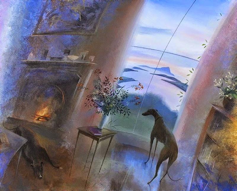 Nicholas Hely Hutchinson ~ Paisagens neo-românticas