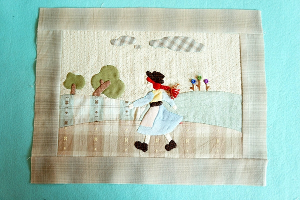 Applique Bag Japanese Patchwork Quilt Tutorial. Step-by-step Photo-instructions DIY.