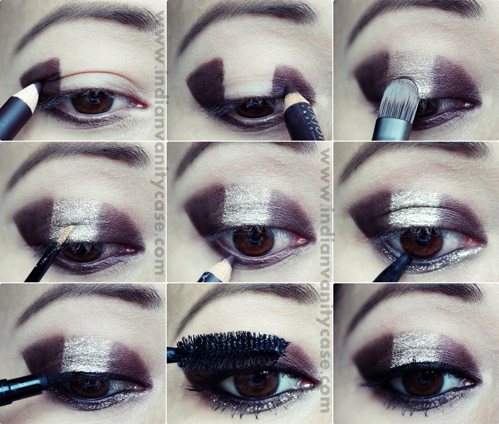 Indian Vanity Case: Easy No Blending Glitter Eye Makeup ...