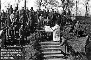 messe premiere guerre mondiale