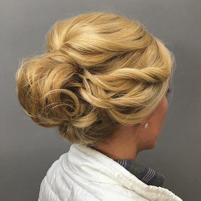 peinados recogidos con trenzas faciles
