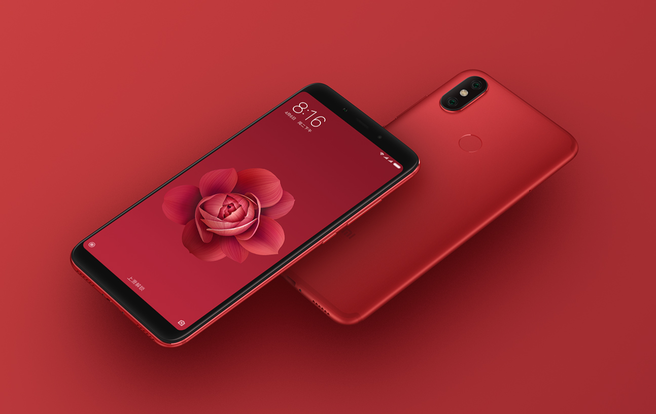 Xiaomi Mi 6X σε κόκκινο χρώμα