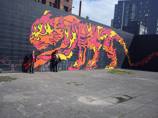 Animal Tiger In Graffiti Art Design Ideas