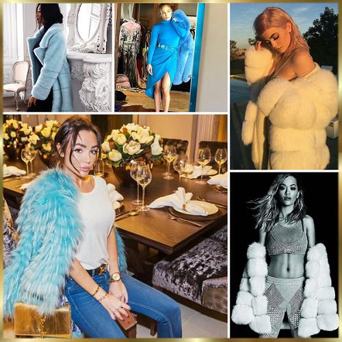 Kylie Jenner, Rita Ora y J Lo con Tzarina Fur Jacket