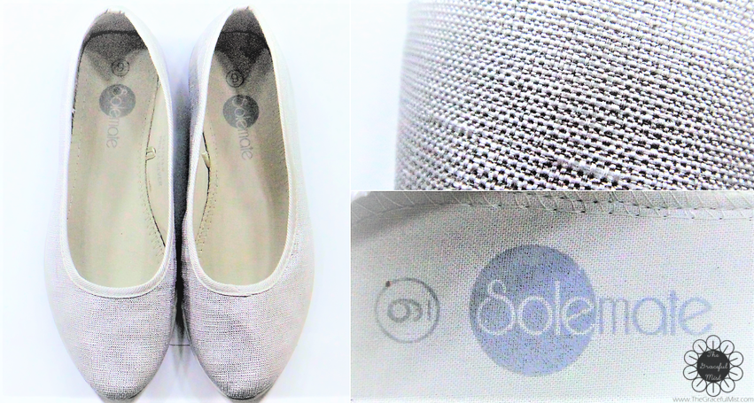Shoes Haul - Solemate - Michaela Shoes - Pair of Shoes Ballet Flats - Cute Ladylike or Feminine Inexpensive Shoes Blog Post by @TheGracefulMist blogger (www.TheGracefulMist.com) Fashion