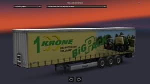 Krone Big Pack 100 Years Trailer