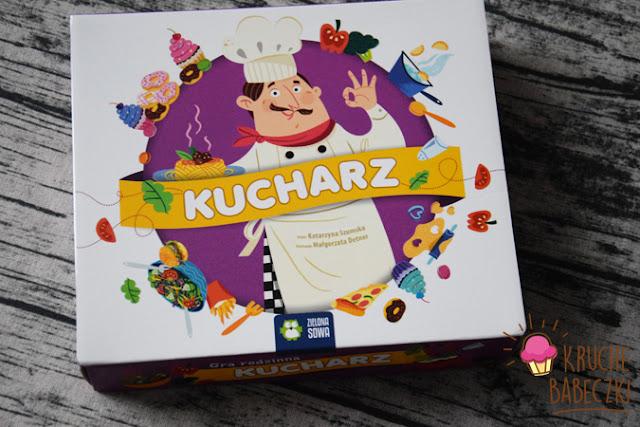 Kucharz - rodzinna gra planszowa