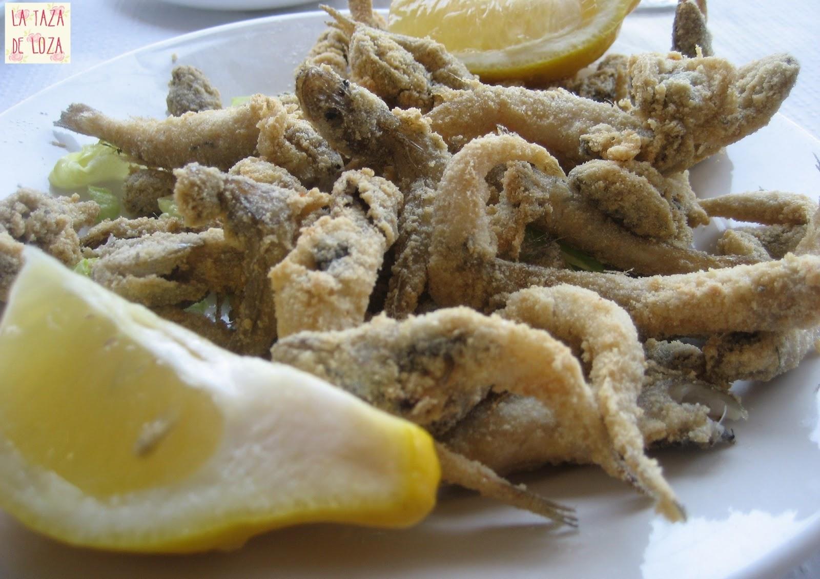 Pescaito Frito A La Andaluza La Taza De Loza