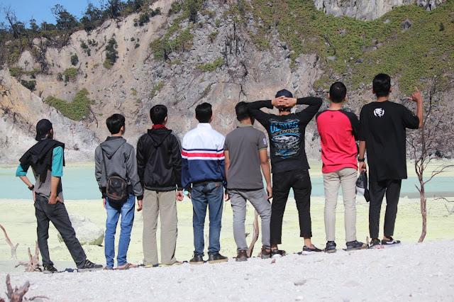 Jadi Baru Kebumen 2018 Tour To Bandung, Best Momen- foto terbaik di kawah putih