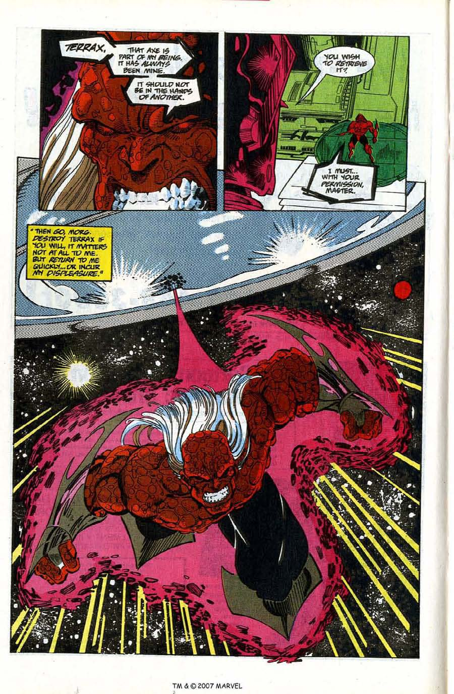 Read online Silver Surfer (1987) comic -  Issue #78 - 14