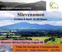 10km Trail Race nr Clonmel...Sun 8th Apr 2018