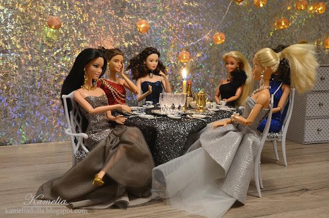 Diorama dla lalek Barbie.