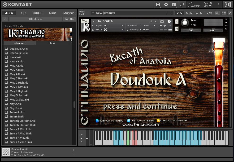 ETHNAUDIO - Strings Of Anatolia KONTAKT Library