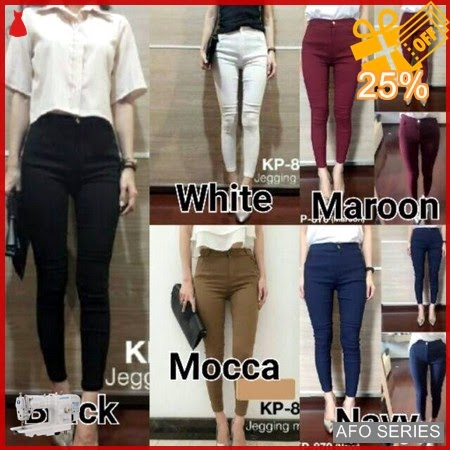 AFO003 Model Fashion Super Stretch Jegging Modis Murah BMGShop