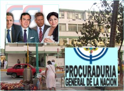 Procuraduría formula pliego de cargos a Oneida Pinto y tres exfuncionarios de la Gobernación de La