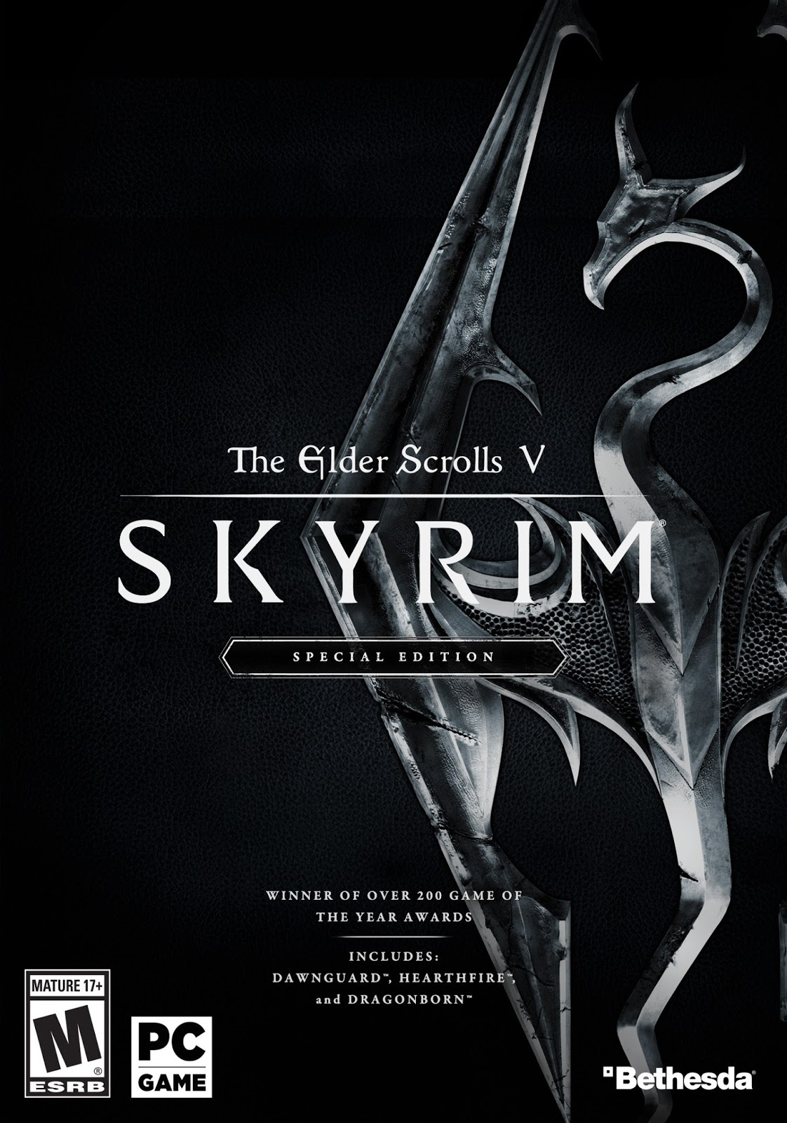 Descargar The Elder Scrolls V Skyrim Special Edition PC Cover Caraatula