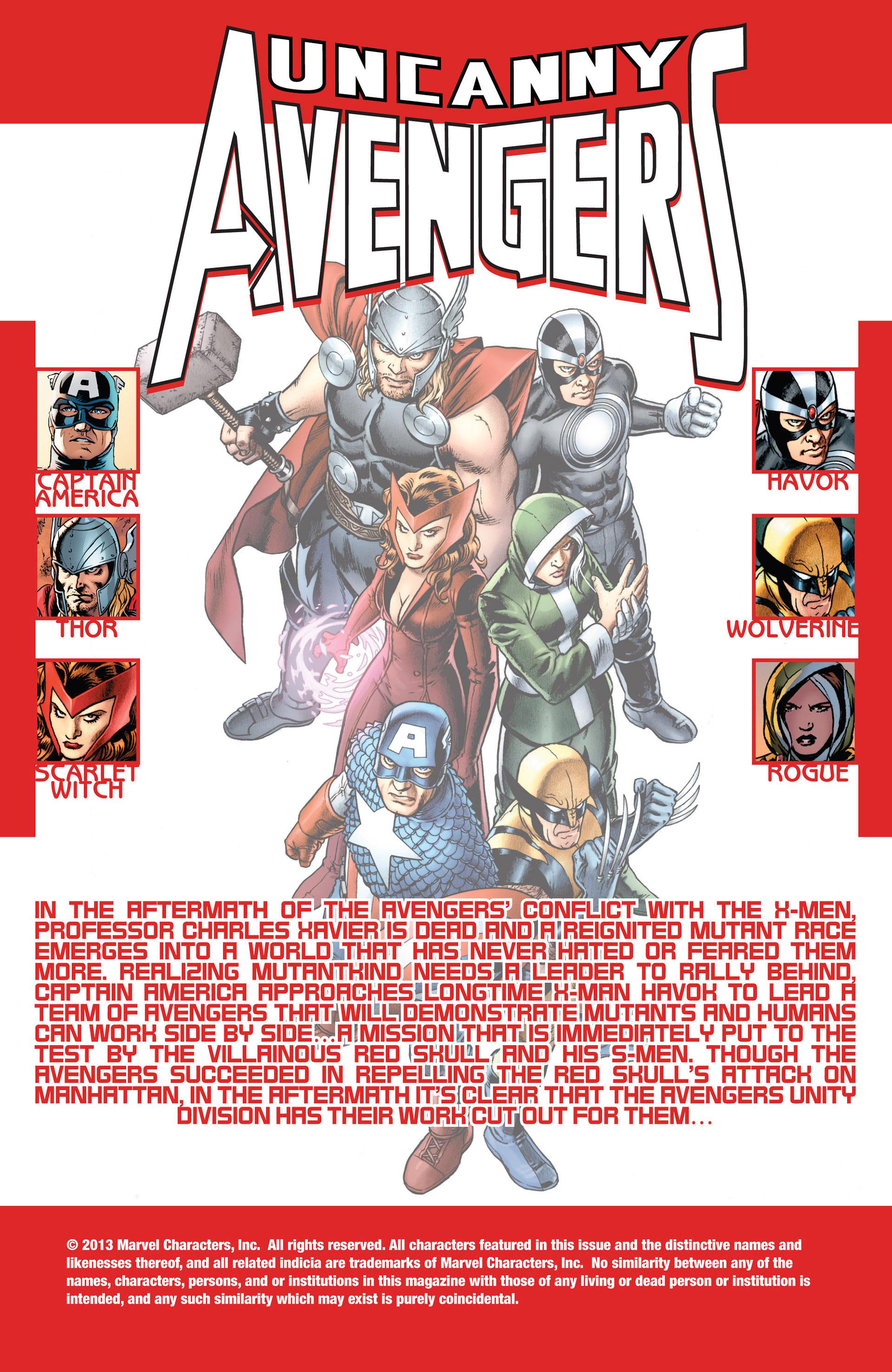 Read online Uncanny Avengers (2012) comic -  Issue #5 - 2