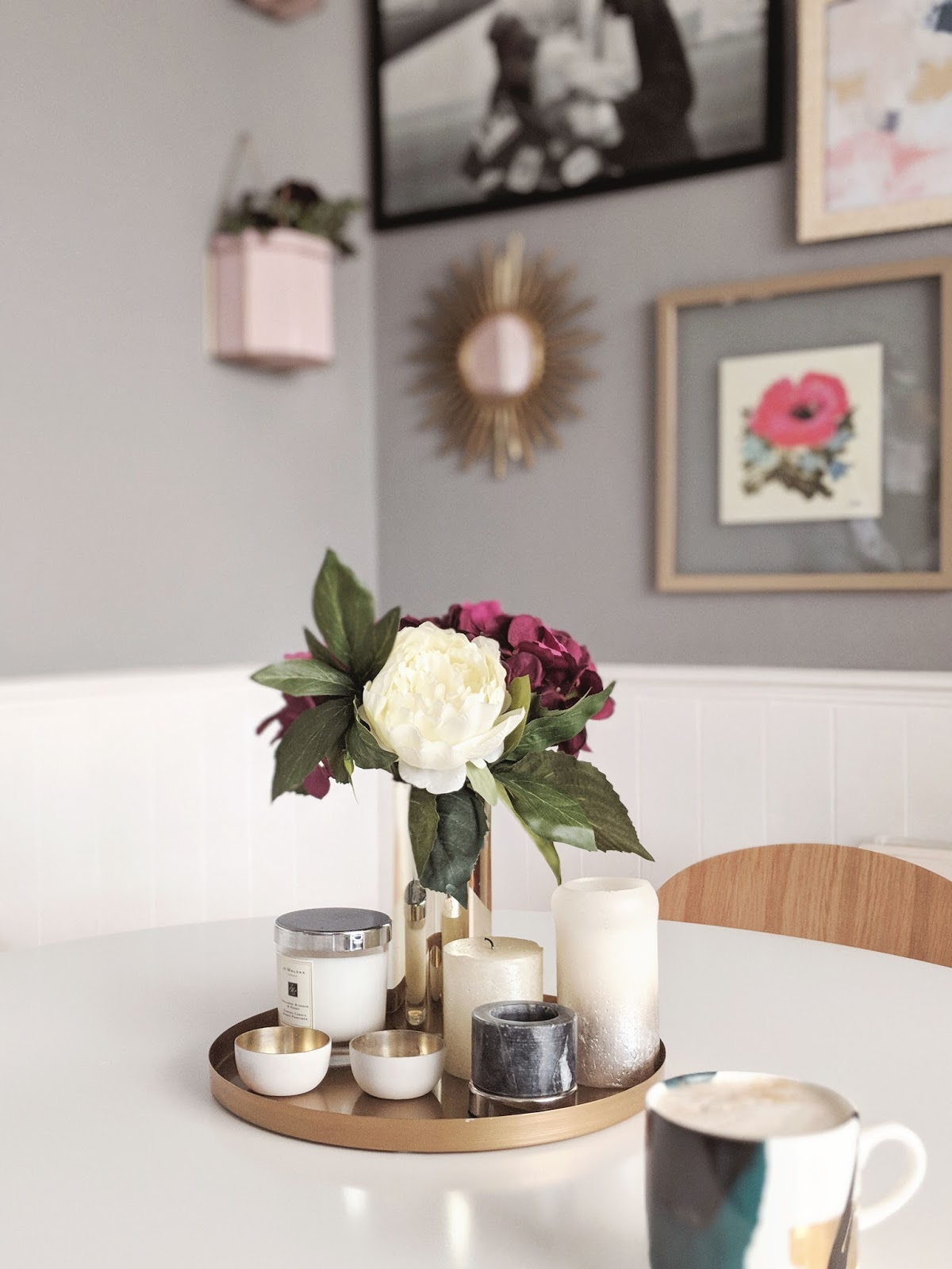 Dining Table Candles