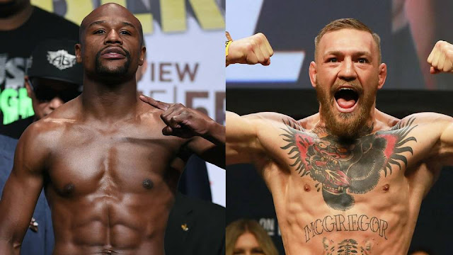 Mayweather vs McGregor Official Weigh-In
