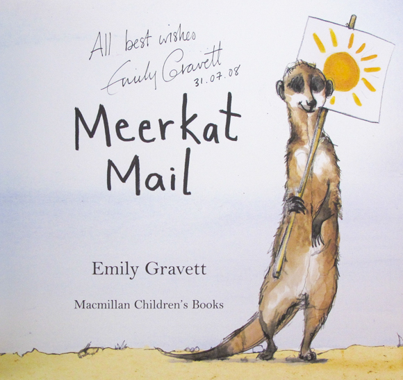Meerkat Mail Emily Gravett