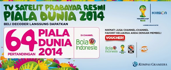 Harga Promo Decoder K Vision World Cup Mei 2014
