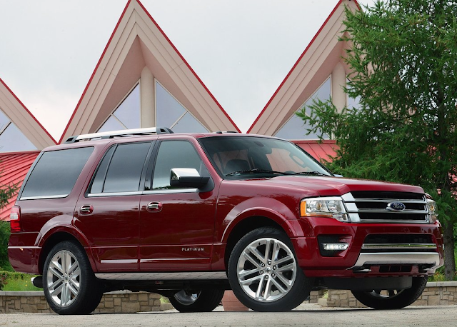 2015 Ford Expedition Platinum Red