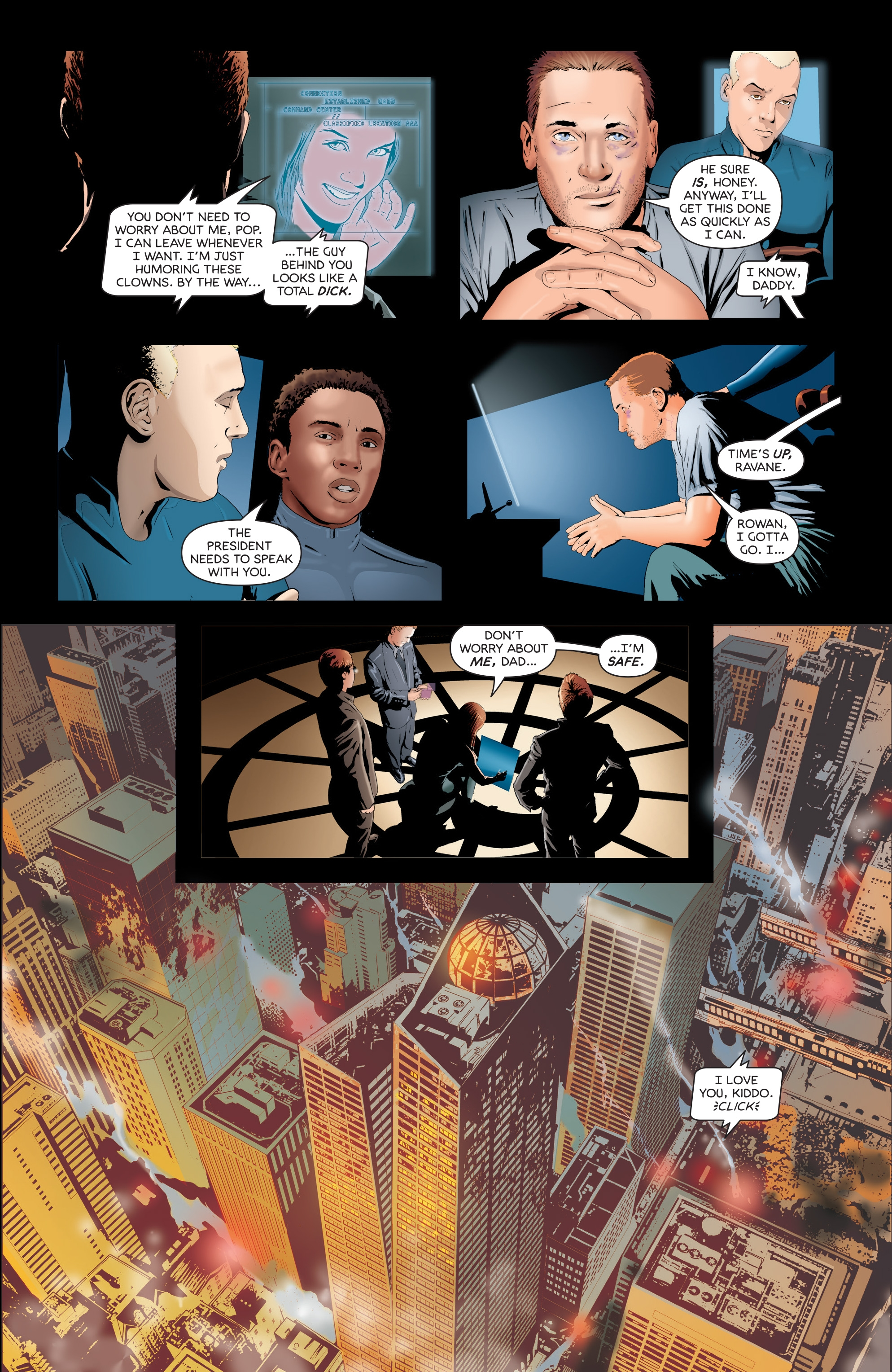 Read online Failsafe comic -  Issue #3 - 16