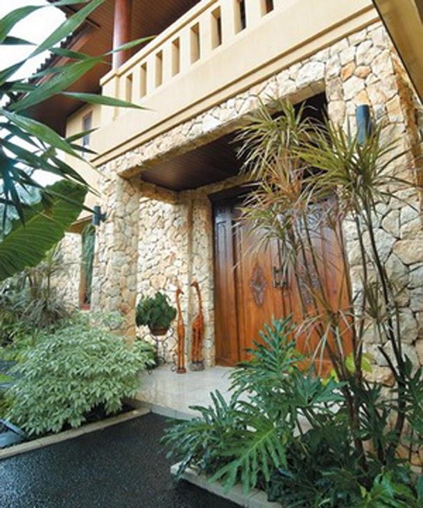 Bentuk Teras Rumah Yang Indah Dan Asri