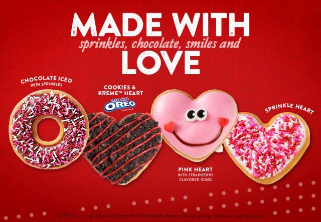 Free Valentine\'s Day Donut at Krispy Kreme on January 31, 2018 ...
