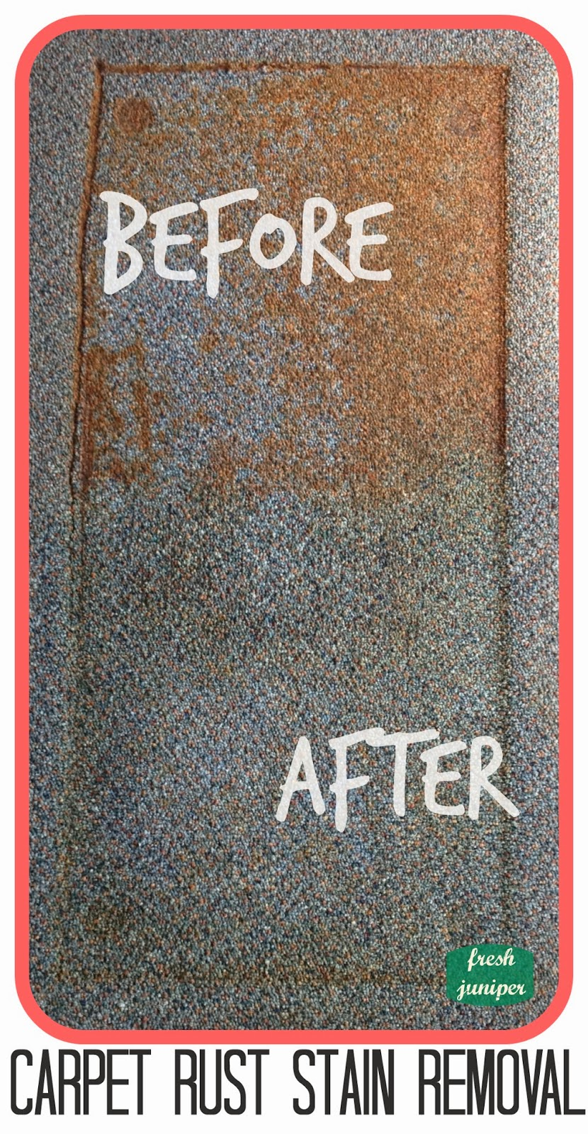 fresh juniper: Rust Stains on Carpet and Metal