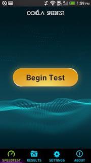 قياس سرعة إنترنت الهاتف