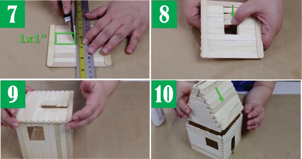 Cara Membuat Kerajinan Rumah Dari Stik Es Krim Beserta ...