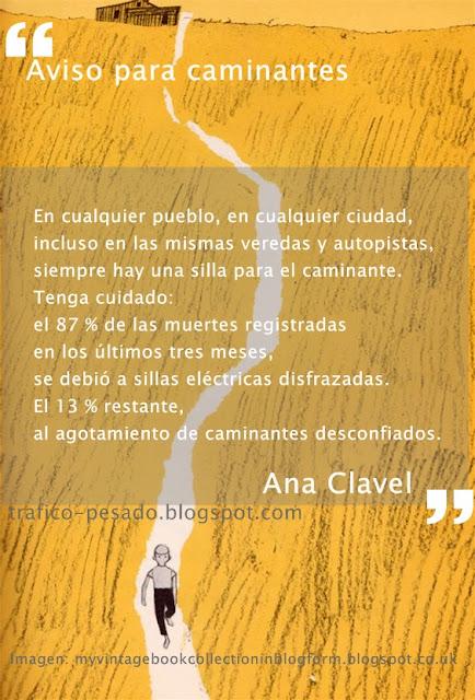 minificción Ana Clavel