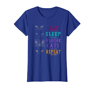 Eat Sleep Warrior Cats Repeat TShirt