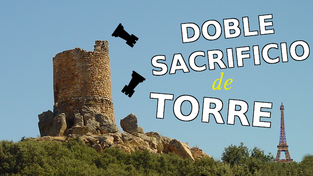Doble sacrificio de torre