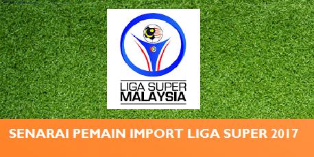 Senarai Pemain Import Liga Malaysia