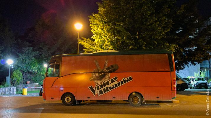 The Voice of Albania, Tirana