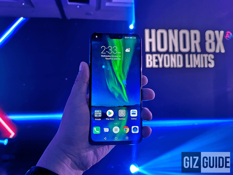 Honor 8X with 128GB ROM launched in the Philippines with an unreal price tag!