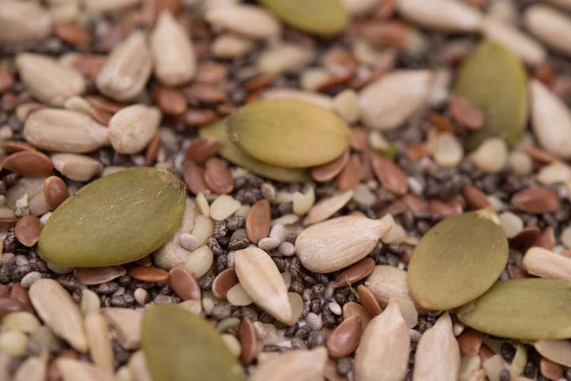 Raw seeds