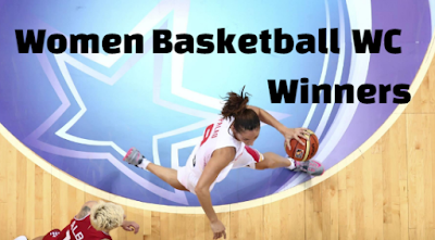 women's basketball world cup, championship, champions, list, year wise, teams.