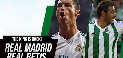 Prediksi Real Madrid Vs Real Betis 21 September 2017