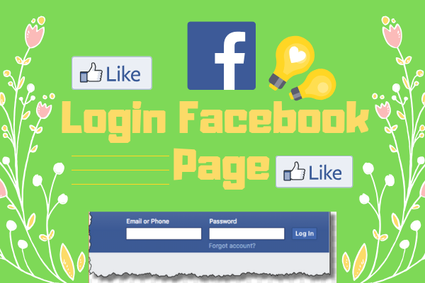 Welcome To Facebook Login Page