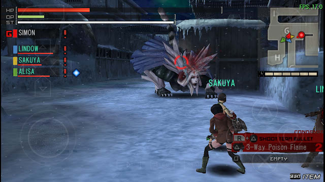 seting lancar god eater